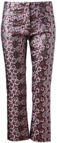 House of Holland Floral Brocade Trousers