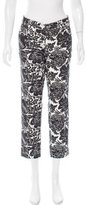 Gucci Printed Mid-Rise Jeans