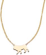 Ariel Gordon Menagerie Collection Miniature Lion Pendant Necklace