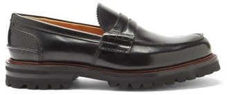 Church's Pembrey Rubber-sole Leather Penny Loafers - Black