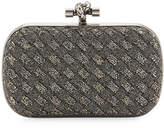 Bottega Veneta Crystal Knot Framed Clutch Bag, Bronze