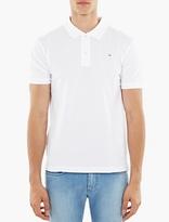 Acne Studios White Kolby Face Polo Shirt