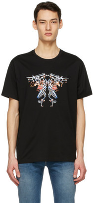 Givenchy Black Neon Lights T-Shirt