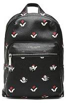 CONTEMPORARY Embellished Tulip Leather Backpack
