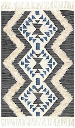 nuLoom Margie Tribal Fringe Wool Rug