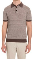 Jeordie's Jersey Linen Blend Polo Shirt