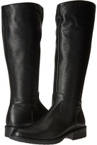 Armani Junior Tall Leather Boots with Armani Logo Girls Shoes