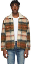 Levi's Levis Made And Crafted Levis Made and Crafted Brown Wool Sherpa Ranch Coat
