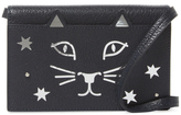 Charlotte Olympia Feline Mini Leather Crossbody
