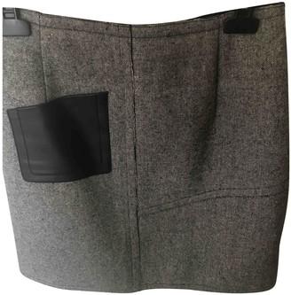 Sandro Black Wool Skirt for Women
