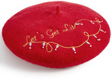 Collection XIIX Let's Get Lit Light-Up Beret