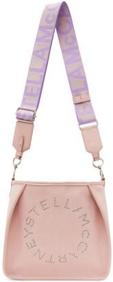 Stella McCartney Pink Mini Logo Crossbody