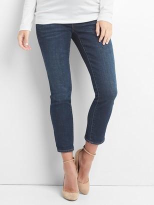 Gap Maternity Demi Panel Girlfriend Jeans