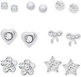 Macy's Children's 7-Pc. Set Day-of-the-Week Stud Earrings in Sterling Silver