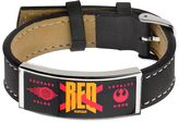Star Wars Episode VII The Force Awakens Men's Red Squadron Leather Bracelet