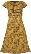 Tattopani Godavari - Half Sleeve Summer Dress With Back Tie Design (Blu-1057-L)Us
