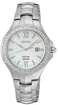 Seiko Coutura Diamond and Stainless Steel Bracelet Watch