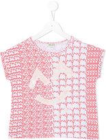 Kenzo printed top - kids - Cotton/Spandex/Elastane - 3 yrs