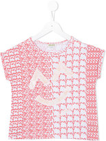 Kenzo printed top - kids - Cotton/Spandex/Elastane - 4 yrs