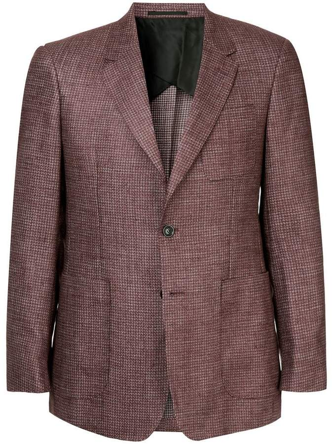 Cerruti structured single-breasted blazer