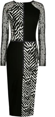 Angelika Jozefczyk Bodycon Dress Pattern Animal Zebra