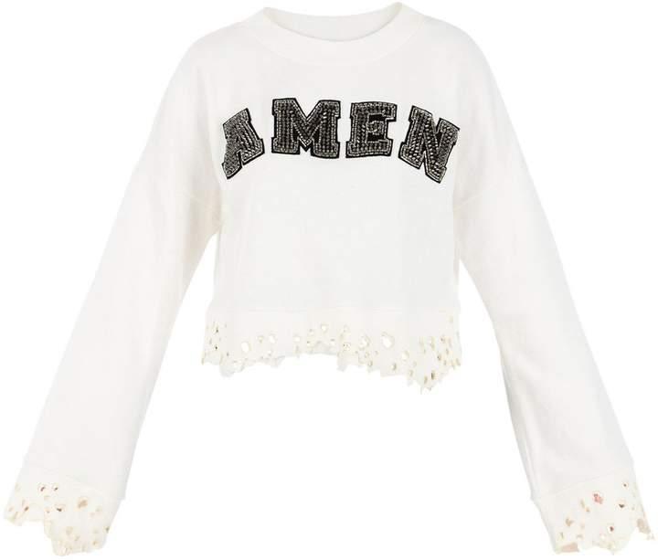 Amen Cream Sweatshirt