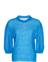 Marni Short Sleeve Crew Neck Sweater
