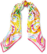 Ralph Lauren Sicily Paisley Silk Scarf