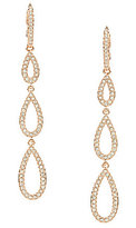 Nadri Pave Drop Earrings