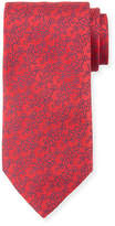Charvet Flower Vine Silk Tie