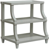 CFC Carlsbad Curved Side Table - Gray