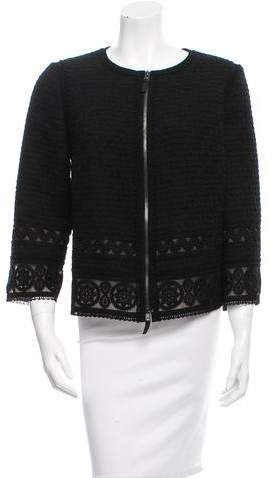 Andrew Gn Wool & Silk-Blend Jacket