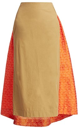 Rosie Assoulin Party In The Back Pencil Skirt