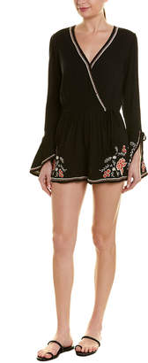 Band of Gypsies Embroidered Romper