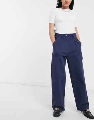 L.F. Markey manuel trousers in navy