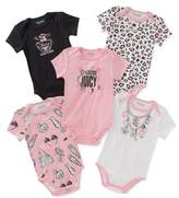 Juicy Couture Girls' 5-pack Bodysuits.