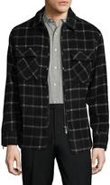 Zanerobe Men's Rugger Plaid Wool Jacket