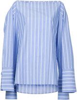 Dion Lee striped poplin shirt