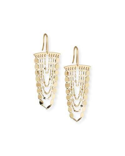 Lana Small Nude Cascade Earrings