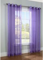Commonwealth Home Fashions Dots Window Curtain Panel