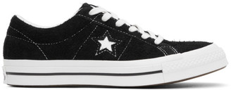 Converse Black Suede One Star OX Sneakers