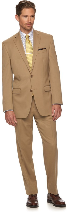 Chaps Men's Classic-Fit Wool-Blend Performance Suit Jacket