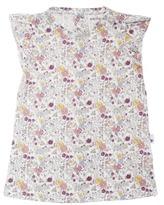 Burt's Bees Baby Newborn Girls' Organic Flyaway Bodysuit Dress - Multicolor