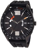 Tommy Hilfiger Men's 1790797 Sport Black Tonal Silicon Watch