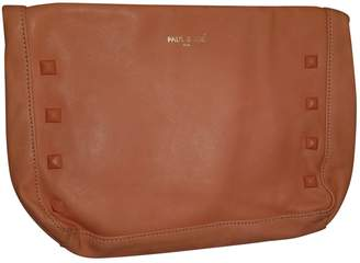 Paul & Joe Orange Leather Clutch bags