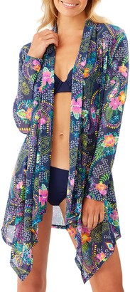 Tommy Bahama Sun Lilies Mesh Cover-Up