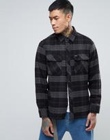 Brixton Bowery Check Shirt In Standard Fit