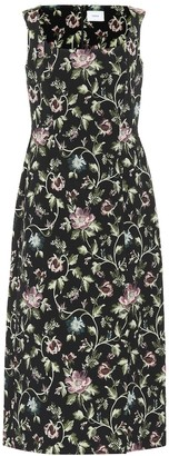 Erdem Arlie floral jacquard dress