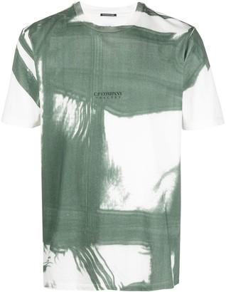 C.P. Company two-tone short-sleeved T-shirt