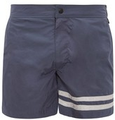 Everest Isles - Diver Swim Shorts - Mens - Navy Silver